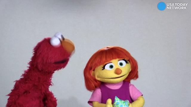 sesame street welcomes julia a muppet with autism