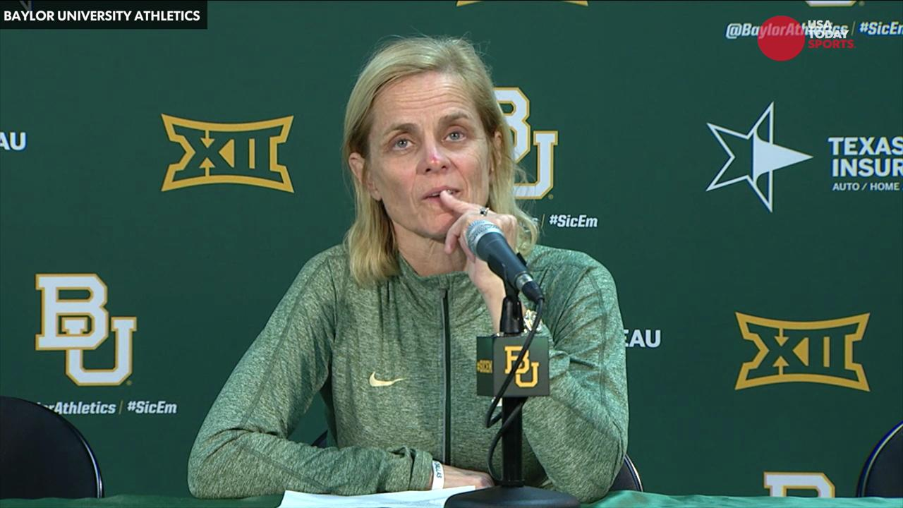 Baylor women's basketball coach Kim Mulkey was apologizing again for her choice of words.