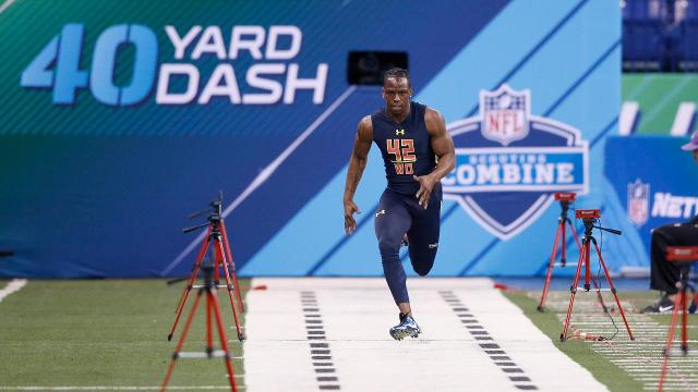 John Ross runs fastest 40-yard dash ever at NFL Combine