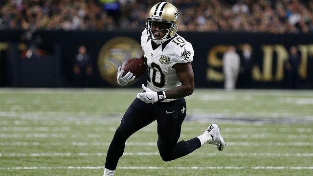 The New England Patriots acquired Brandin Cooks and a 4th round pick from the New Orleans Saints in exchange for a 1st and 3rd rounder.