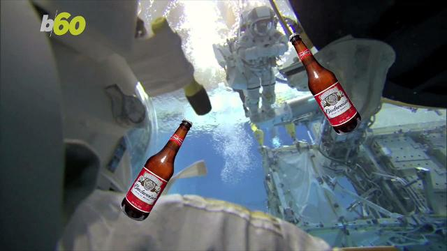 Budweiser is determined to launch their beer into space