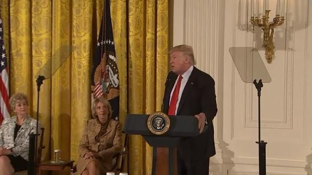 Trump Marks Women's History Month