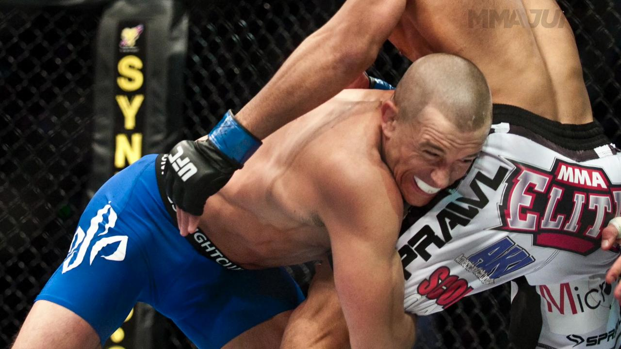 UFC legend Georges St-Pierre through the years