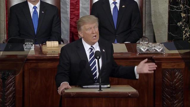 Donald Trump called for merit-based immigration in his first address to Congress.
