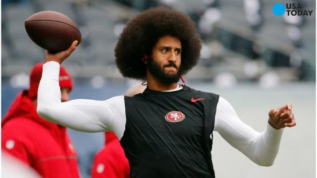 Trump takes jabs at Colin Kaepernick