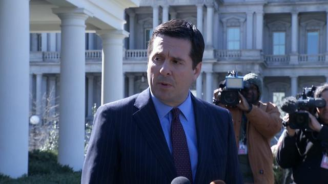 Nunes Briefs Trump On Possible Monitoring
