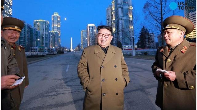 North Korea has conducted a test of a newly developed high-thrust engine at its Tongchang-ri rocket launch station.