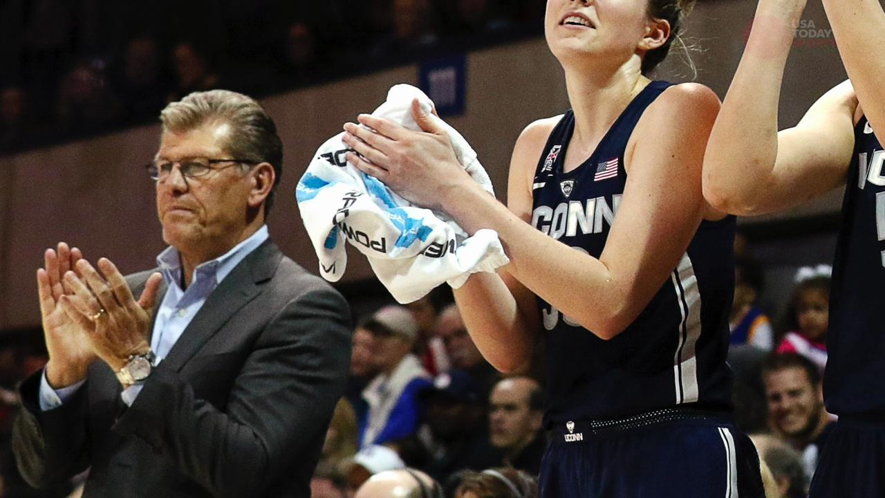 Georgetown women's basketball player Faith Woodard tells us what makes UConn Women's basketball so dominant.