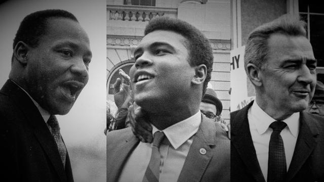 Profiles of courage: King, Ali, McCarthy defined resistance
