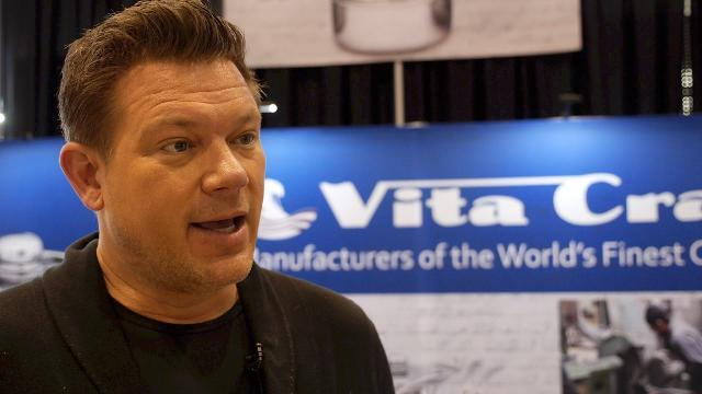 Tyler Florence helped redesign the first pan he ever cooked with
