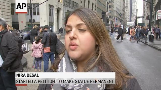 'Fearless Girl' Statue Stays Through Feb. 2018