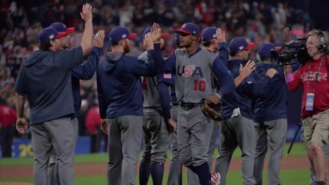 The Americans beat the Dominican Republic 6-3 on Saturday night to move on to the World Baseball Classic semifinals.