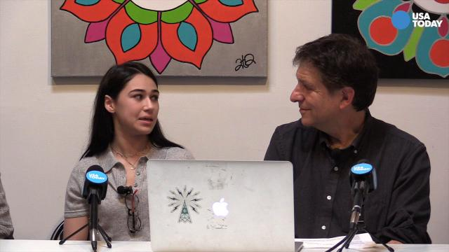 In this excerpt from our #TalkingTech Live podcast, young Sophia Latessa, 16, talks about her new app, MemeStream, for adding funny captions to photos.