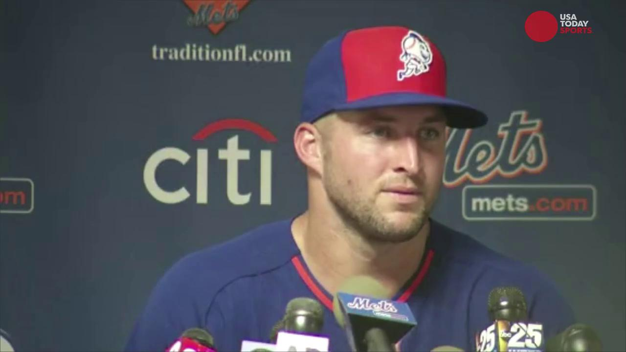 After his performance in spring training, where can we expect to see Tebow?