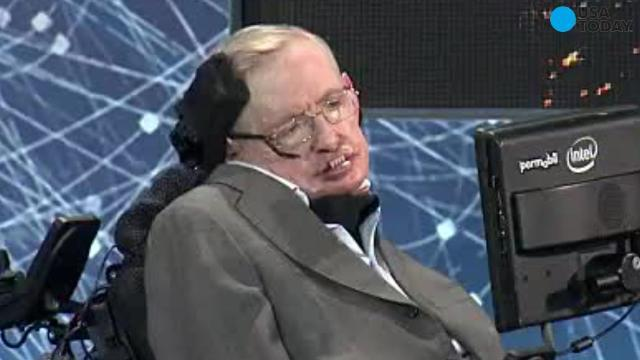 Stephen Hawking debuts new voice