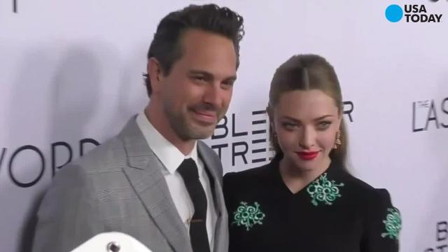 News has broken that Amanda Seyfried and her fiancé Thomas Sadoski secretly eloped over the weekend. Sadoski made let the news slip on Thursday's edition of The Late Late Show with James Corden. He and Seyfried took off into the country with an official and got hitched - just the two of them.