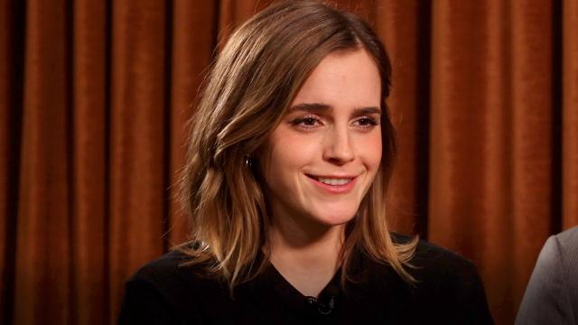 'Beauty and the Beast' stars Emma Watson and Dan Stevens tell USA TODAY's Andrea Mandell which movies they turn to when they just need a little bit of comfort.
