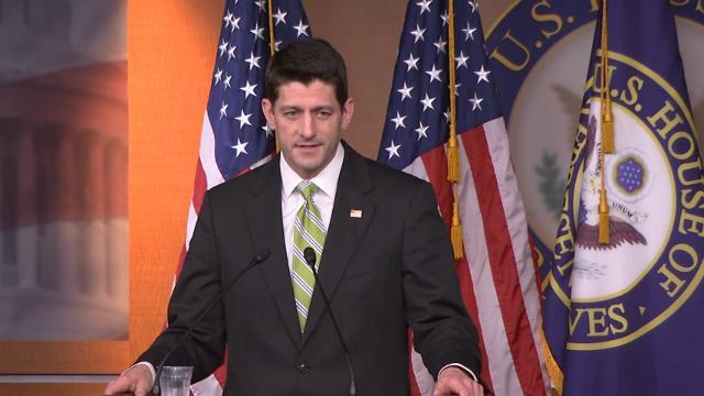 Ryan Bemoans Collapse of Health Care Bill