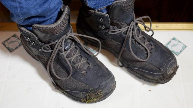 How to clean shoes in a washing machine