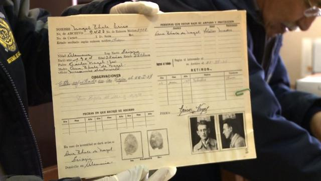 """Old files have revealed the story of a businessman hailed as the """"Bolivian Schindler"""" for helping thousands of Jews flee to the South American country to escape the Nazis. Video provided by AFP"""