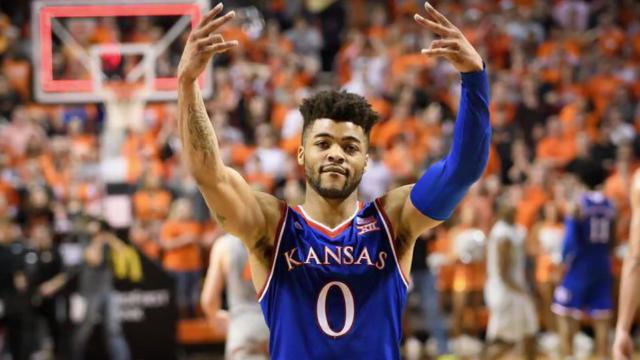 Kansas stays atop men's college basketball poll