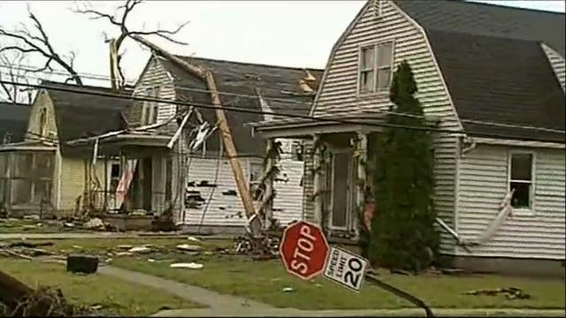 The National Weather Service says survey teams will be moving across Illinois to catalog damage and determine the number of tornados that touched down in the state. (March 1)