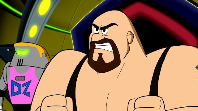 "Paul ""Big Show"" Wight and other WWE wrestlers lend their voices to this exclusive clip from the animated film 'The Jetsons & WWE: Robo-Wrestlemania.'"