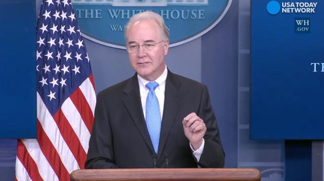 U.S. Health Secretary: Changes are about patients