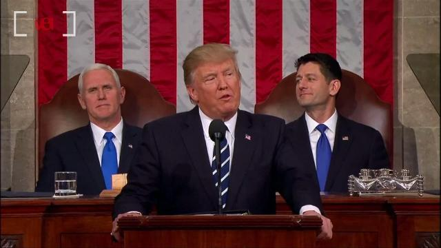 Donald Trump's joint session speech sets new Twitter record