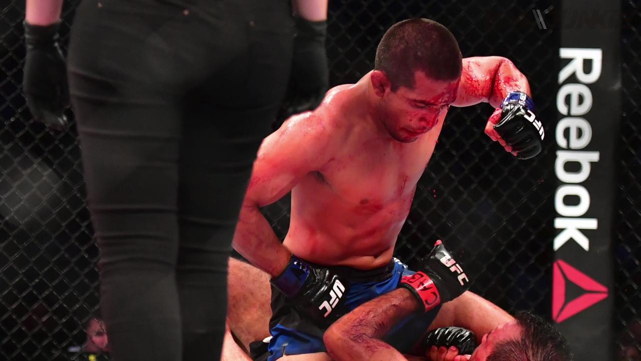 ufc fight night 106 u0027s joe soto blood gushing head gash was u0027my