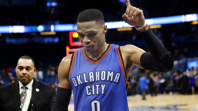 Westbrook sets record for triple-double with 57 points
