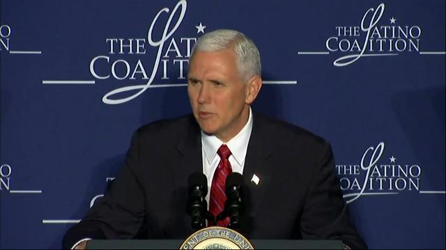 Pence: Latino Community 'Crucial' to US Economy