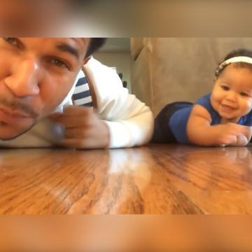 This dad encourages his daughter and other kids with beatboxing