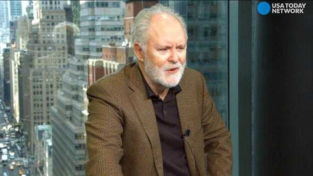 Actor John Lithgow enjoys character acting, from portraying Winston Churchill on 'The Crown' to his new bumbling character, Larry Henderson on 'Trial & Error.'