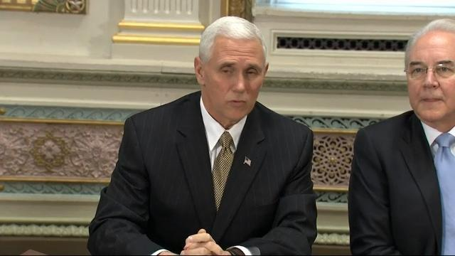 Pence Hosts GOP Healthcare Listening Session