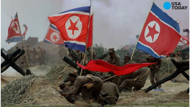 The South Korean military said North Korea fired several projectiles off  its eastern coast early Monday in what appears to be the second launch in a  month. ba2c36d6a26d