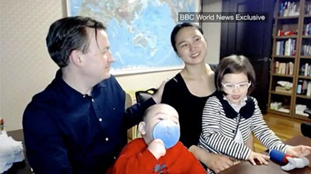 BBC dad speaks out for the first time since viral interview