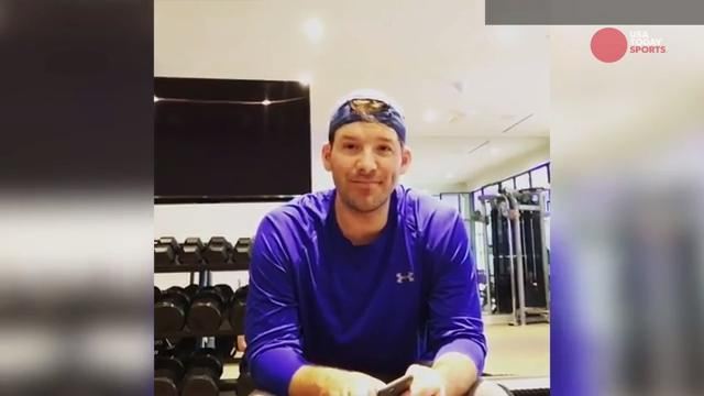 Tony Romo says goodbye to Cowboys fans