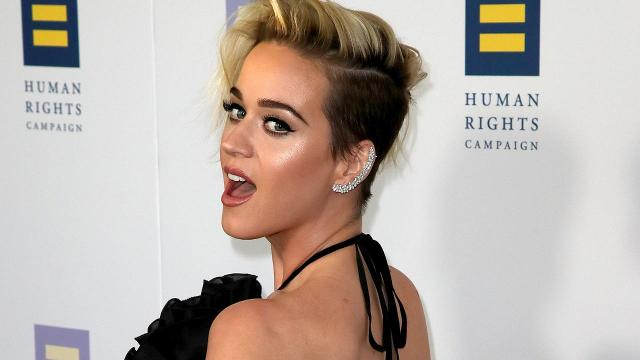 Katy Perry spoke about her religious upbringing while accepting an award from the Human Rights Campaign
