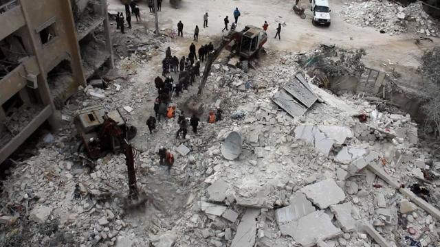 At least 21 dead after an airstrike on Syria's Idlib