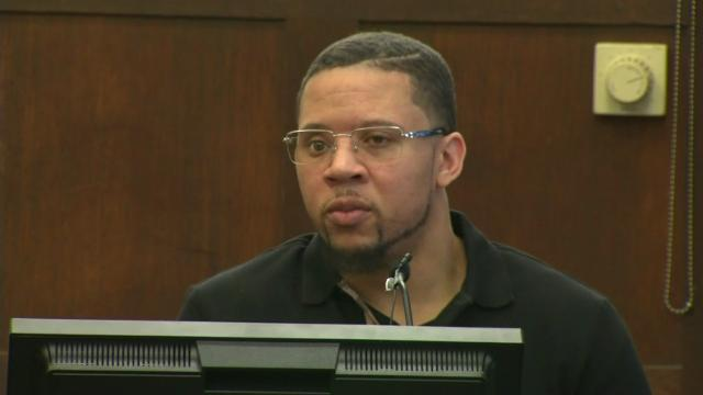 Witness testifies how ex-NFL star shot at men