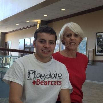 Childhood cancer survivor and his family create mission to raise funds to send young cancer patients to summer camp. Their primary means of funding is Playdate with the Bearcats.