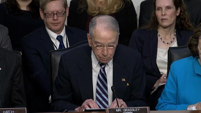 Grassley: Independent justice needed on SCOTUS