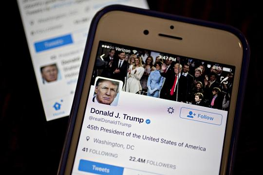 Tweet and delete? Congress warns Trump he could be breaking the law