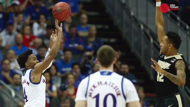 Kansas and Oregon set up intriguing Elite 8 matchup