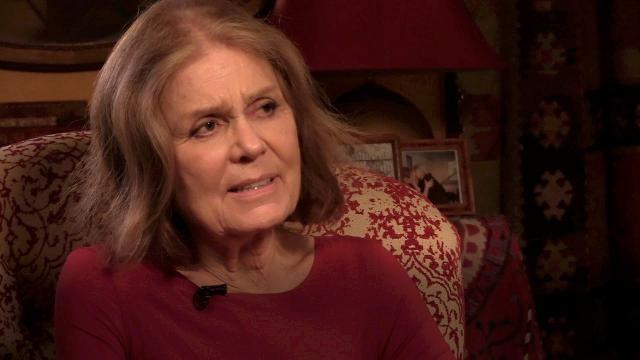 This is what keeps Gloria Steinem up at night