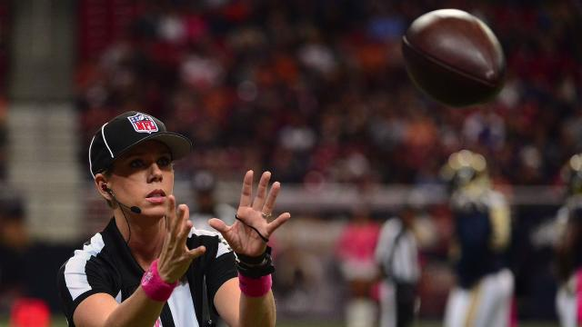 Sarah Thomas: The NFL's first female official