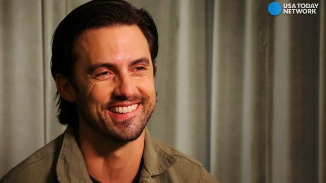 Milo Ventimiglia opens up about Jack's facial hair and that nude scene in 'This is Us.'