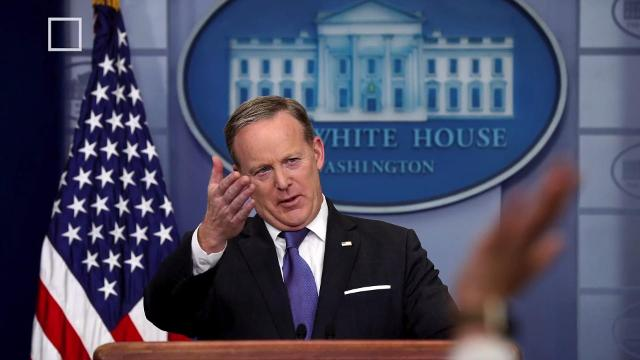 White House Press Secretary Sean Spicer is apparently apologizing for claiming a British spy agency helped Barack Obama Wiretap Donald Trump. Josh King has the story (@abridgetoland).