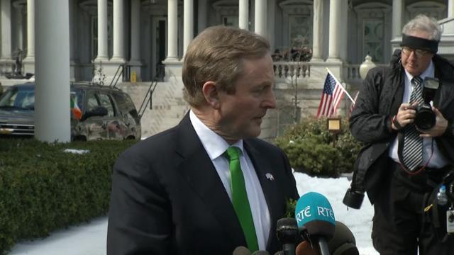Irish PM: 'Constructive' Meeting with Trump